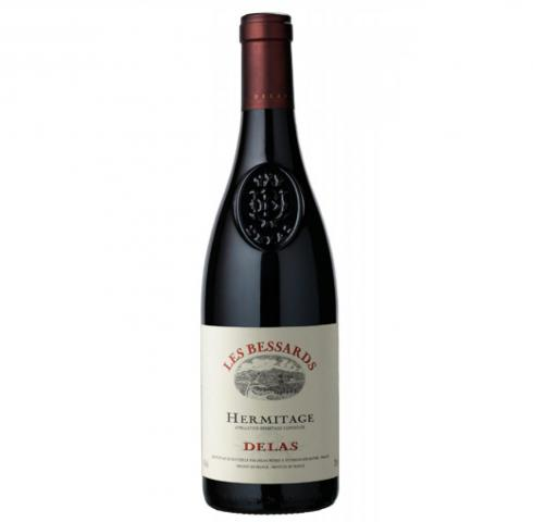Delas red hermitage Les Bessards 750ml single vineyard selection