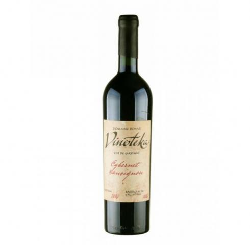 вино Домейн Бойар Винотека Вин де Гараж 750мл Каберне совиньон 2004/2007