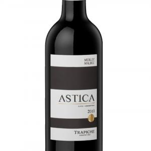 вино Трапиче Астика 750мл Мерло и Малбек 2017 m1
