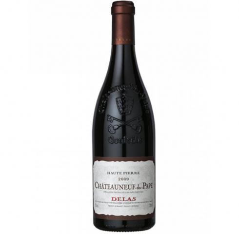 вино Делас 750мл Шатоньоф дю Пап Руж от Пиер 2014