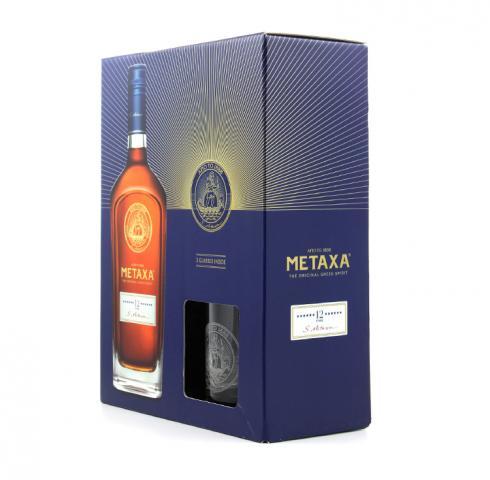 Метакса 700мл 12 * с две чаши