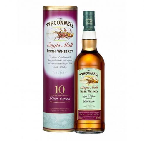 уиски Тирконел 700мл Порт 10 год