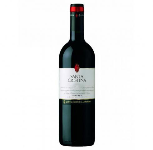 вино Санта Кристина 750мл Кианти 2010г Антинори