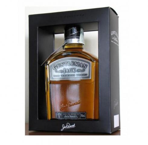 тенеси уиски Джак Даниелс 700 мл. Джентълмен кутия тип рамка