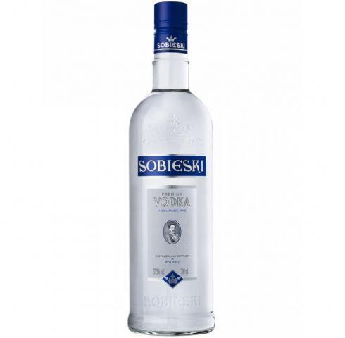водка Собиески 500 мл. Син