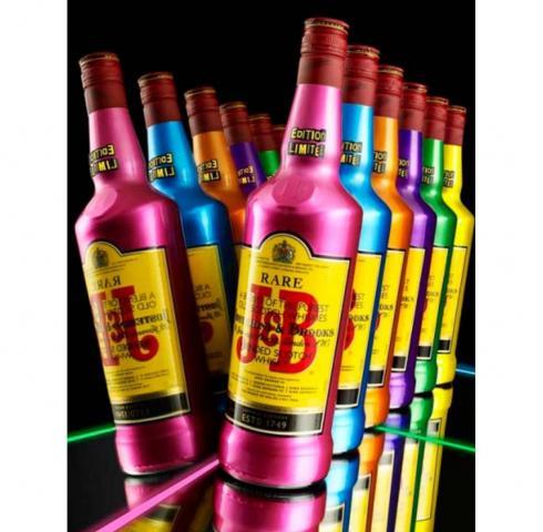 уиски Джей енд Би 700мл цветна бутилка