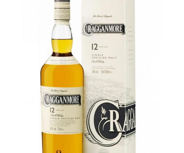 уиски Краганмор 700мл 12г p1