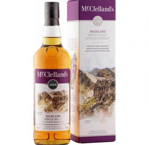 уиски Маклеландс Хайленд 700мл  /McClelland's Highland