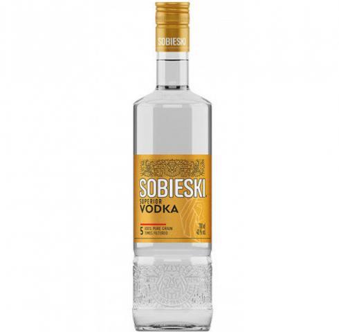 водка Собиески 1л Супериор