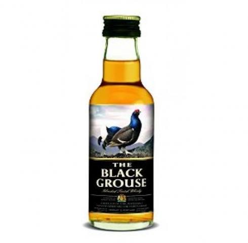 уиски Феймъс Блек Граус 50мл