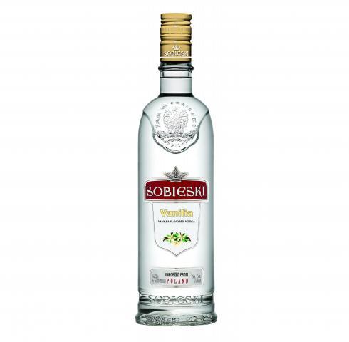 водка Собиески 700мл Ванилия
