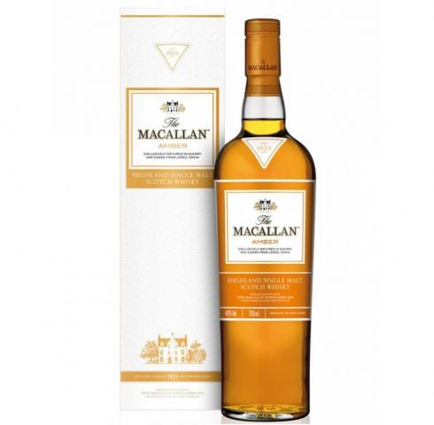 MACALLAN AMBER SHERRY OAK SINGLE MALT