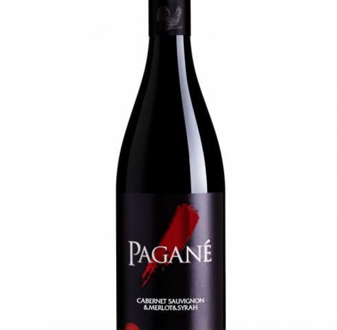 вино вила Любимец Пагане 750мл Каберне Совиньон по Мерло по Сира