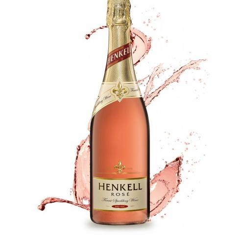 пенливо вино Хенкел 750мл Драй Сек Розе