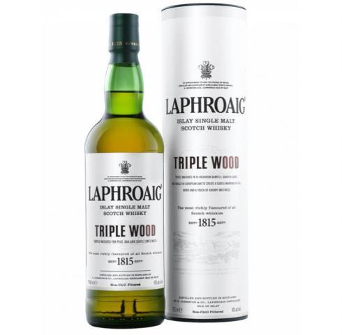 уиски Лафройг 700мл Трипъл уд /LAPHROAIG TRIPLE WOOD