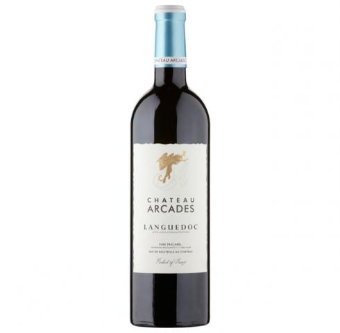 вино Шато Аркад 750мл Лангедок