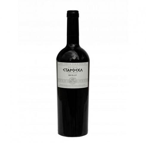 вино Старосел 750мл Мерло