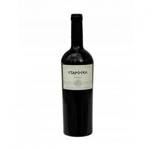 вино Старосел 750мл Сира