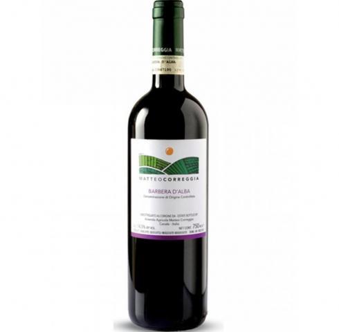 вино Матео Кореджа 750мл Барбера ди Алба DOCG 2011