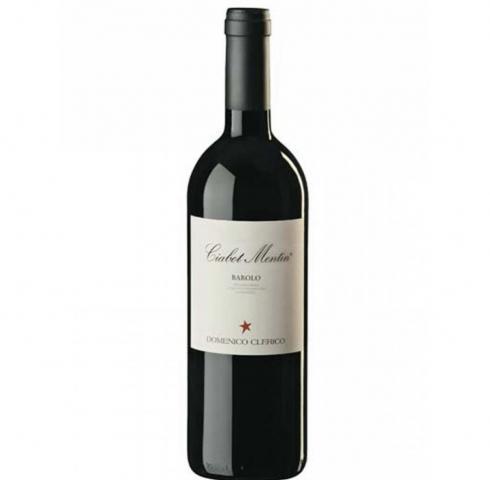 вино Доменико 750мл Клерико Бароло Чиабот Ментин DOCG 2010