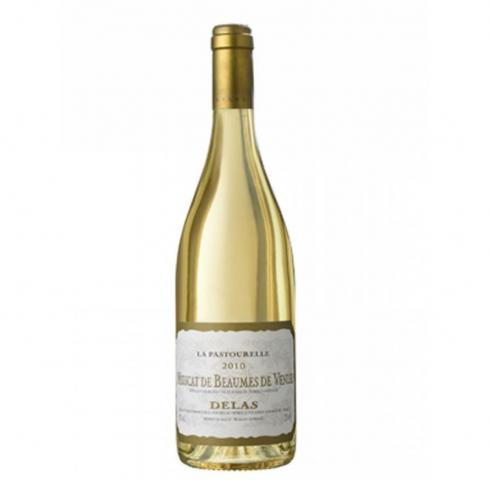 wine Delas muscat de Beaumes de Venis 0.375