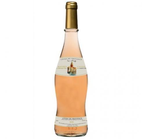 вино Льо Вилаж 750мл Розе Кот де Прованс 2017