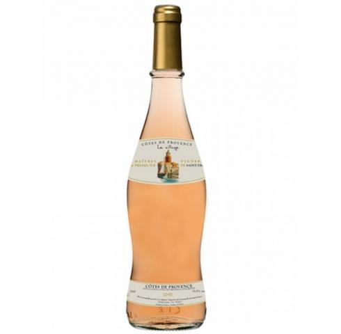 вино Льо Вилаж 375мл Кот де Прованс Розе 2017