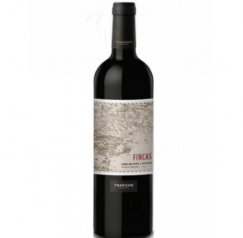вино Трапиче Финкас 750мл Бонарда 2014