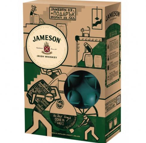 уиски Джеймисън 700мл с форма за лед