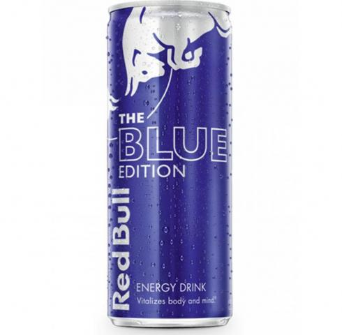 Energy Drink Red Bull Blue Edition