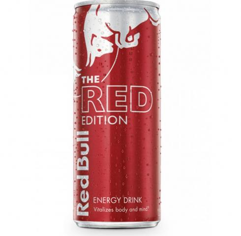 Energy Drink Red Bull Red Edition