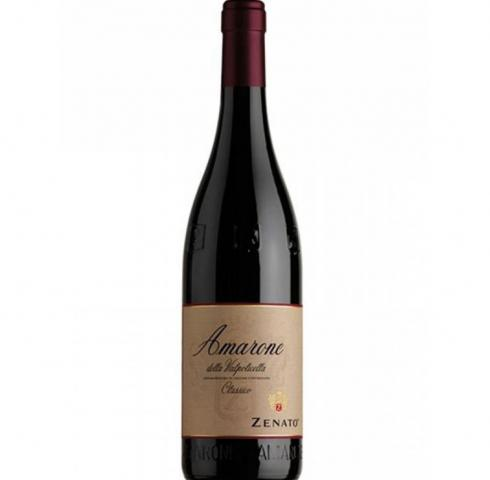 вино Дзенато 750мл Валполичела Амароне DOCG 2014г