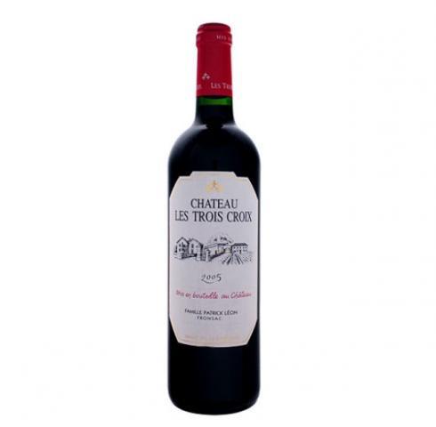 вино Шато Трите кръста 750мл Каберне Совиньон и Каберне фран