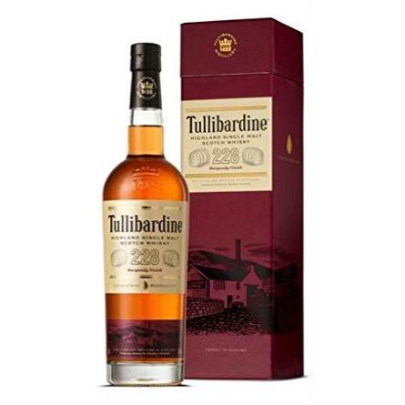 уиски Тулибардин 700мл 228 Бургунди Финия Малц p1
