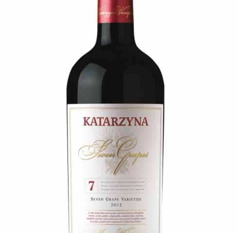 вино Катаржина Севън Грейпс 750мл
