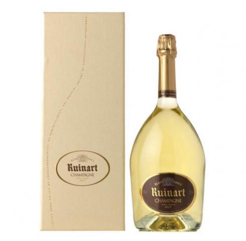 шампанско Руинарт 750мл Блан де Блан с кутия