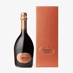 шампанско Руинарт 750мл Розе с кутия m1