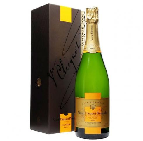 шампанско Вьов Клико 750мл Винтидж Резерва 2008 с кутия