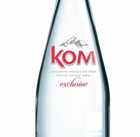 минерална вода КОМ 750мл стъкло m1
