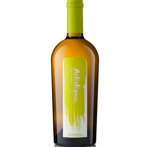 Вино Артистик 750мл Совиньон блан и Шардоне