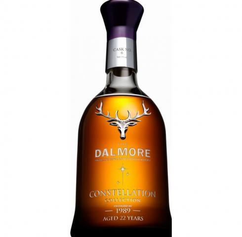 уиски Далмор 700мл Колекция Съзвездие 22 г. Винтидж 1989