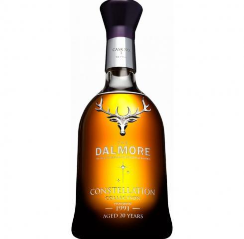 уиски Далмор 700мл Колекция Съзвездие 20г. Винтидж 1991