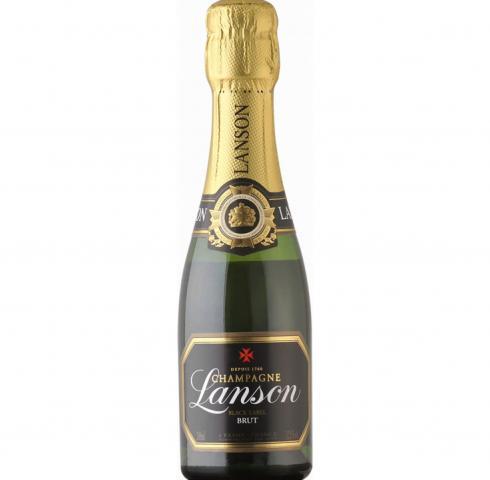 шампанско Лансон 200мл Блек Лейбъл Брут