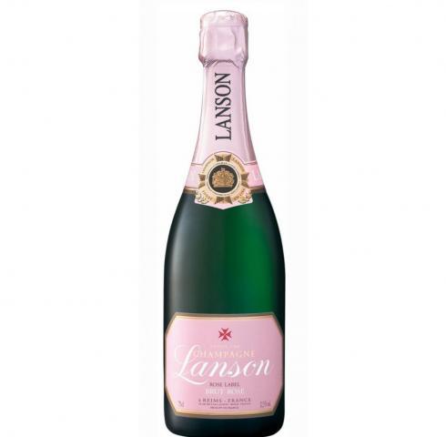 шампанско Лансон 750мл Розе Брут