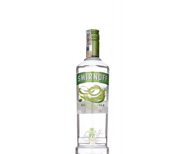водка Смирноф 700мл зелена ябълка p1