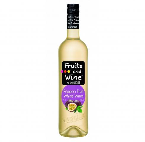 винена напитка Вино и Плодове 750мл Пешън Фруит