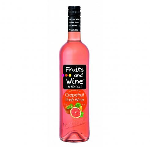 винена напитка Вино и Плодове 750мл Грейпфрут