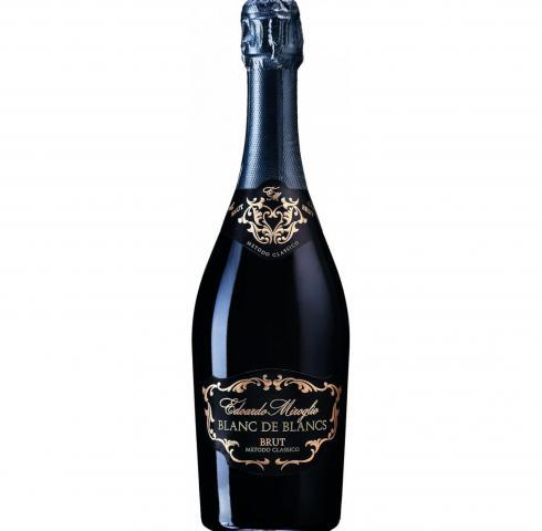 Пенливо вино Едоардо Миролио 750мл Блан Де Блан Брут
