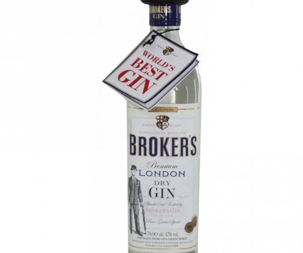 джин Брокерс 700мл Лондон драй джин p1