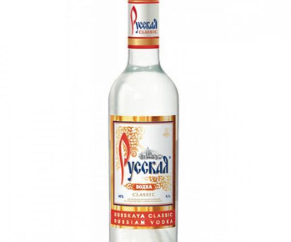 водка Руская 1л  p1